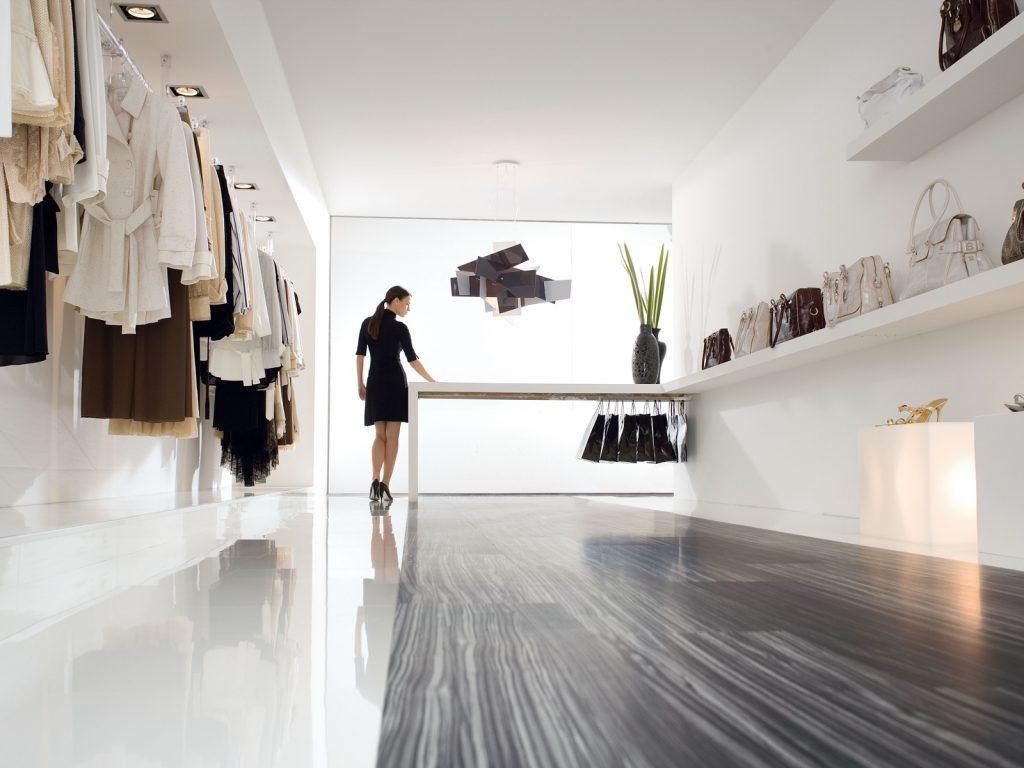 Fußboden in einer Boutique (SKEMA CREATIVE)