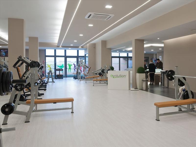 Laminate von SKEMA in einem Fitness-Studio
