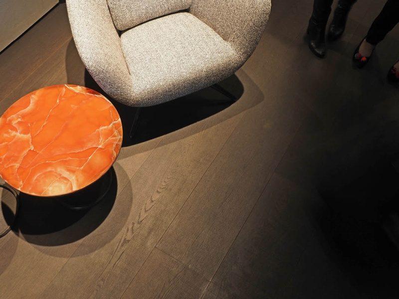 "Lindura-Fußboden auf dem ""Salone del Mobile 2017"" in Mailand"